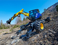 MOBILE WALKING EXCAVATOR